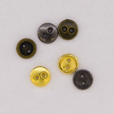Metal Buttons 6mm