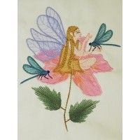 Fairy Forest Machine Embroidery Design