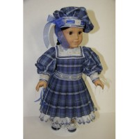 Sailorette, 18 inch Doll Ensemble Embroidery Design