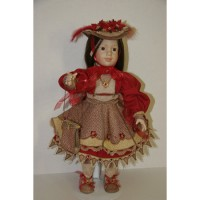 Holidays - Christmas, 18 inch Doll Ensemble Embroidery Design