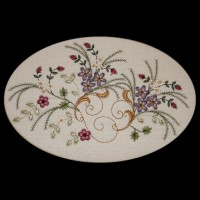 Victorian Floral Machine Embroidery Design