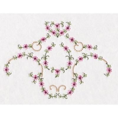 Dainty Florals Machine Embroidery Design