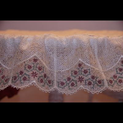 Fine Lace Machine Embroidery Design