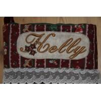 Christmas Alphabet Embroidery Design