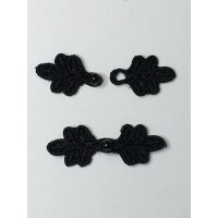 "Doll X-Small 1 1/4"" Frog Closures"