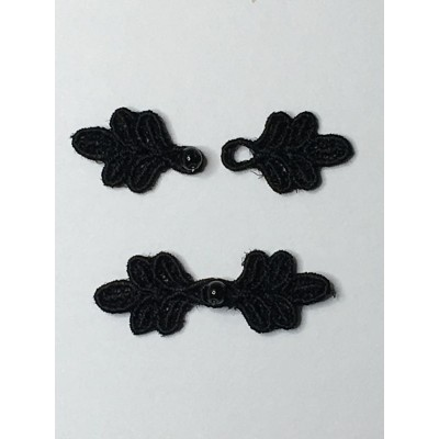 """Doll X-Small 1 1/4"""" Frog Closures"""